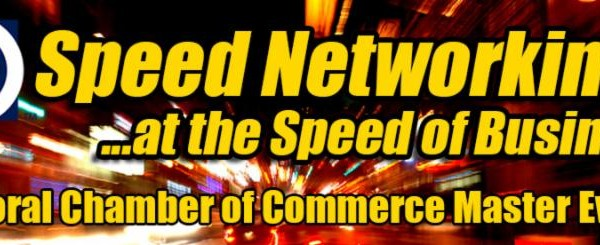 Speed Networking, a Doral Chamber of Commerce event.
