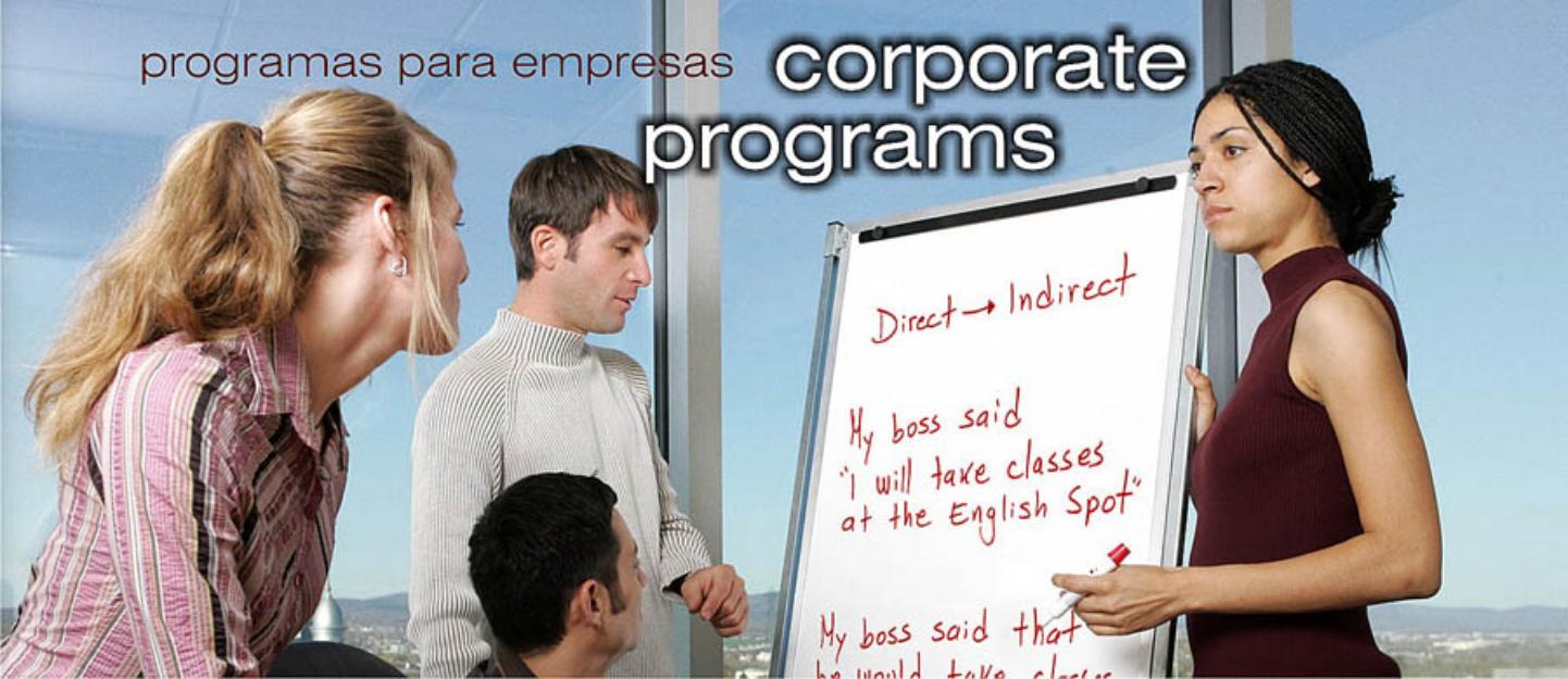 english spot banner corporate programs