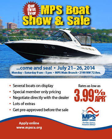 MPS Boat Show & Sale, July 21 - 26, 2014