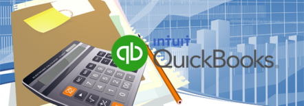 QuickBooks, a Doral Chamber of Commerce event smaller logo.