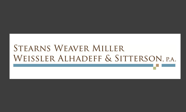 Stearns Weaver Miller law firm and member of Doral Chamber of Commerce
