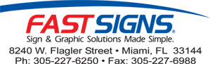 Fastsigns Miami, a Doral Chamber of Commerce member.