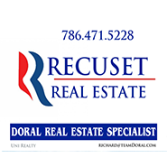 doral chamber of commerce member recuset real estate