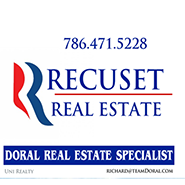 Recuset realty and member of doral chamber of commerce