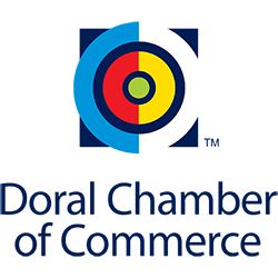 Doral Chamber of Commerce logo.