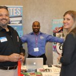 Introducing businesses at PowerBusiness Expo May 2017, Doral Chamber of Commerce event.