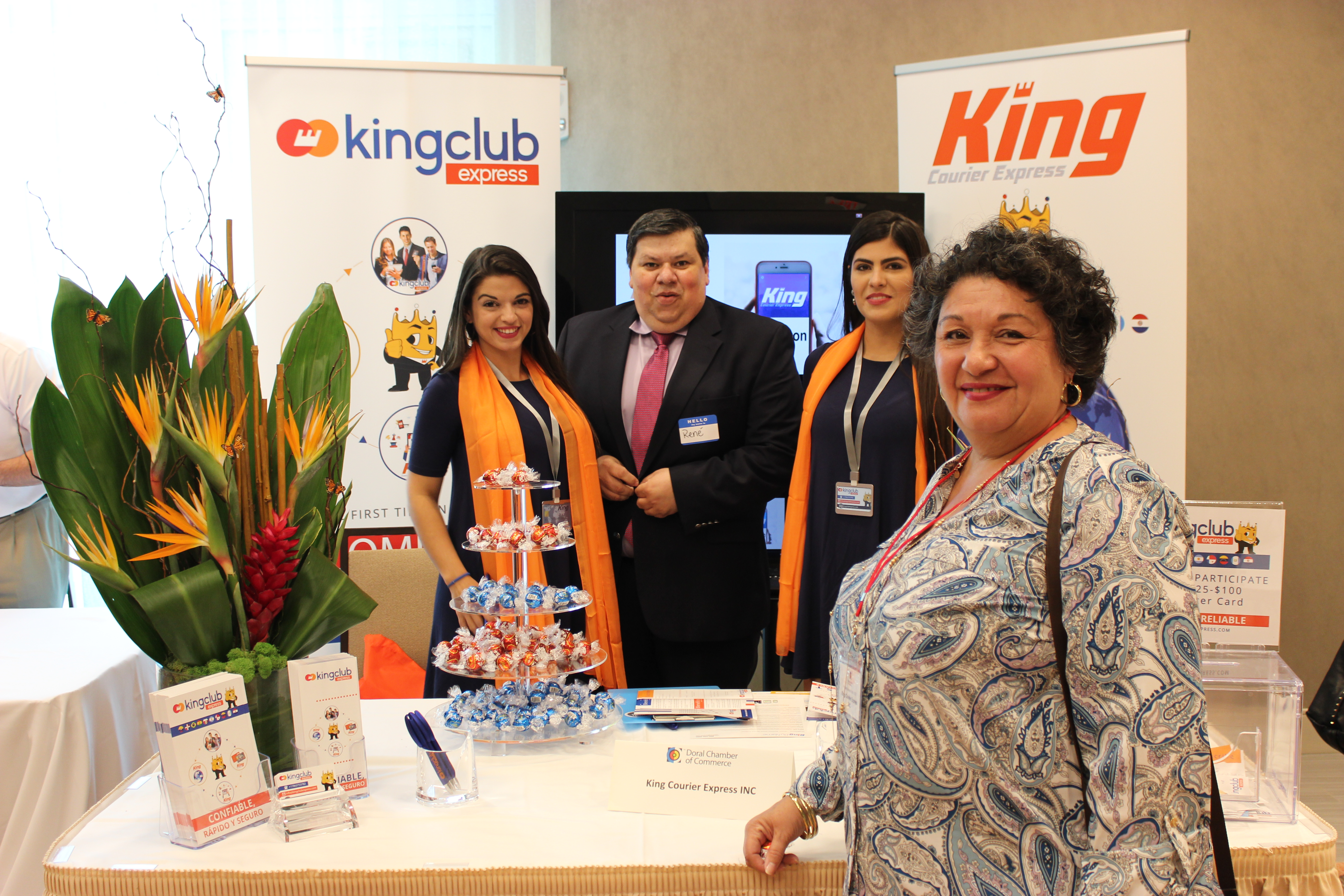 Kingclub Express at PowerBusiness Expo May 2017, Doral Chamber of Commerce event.