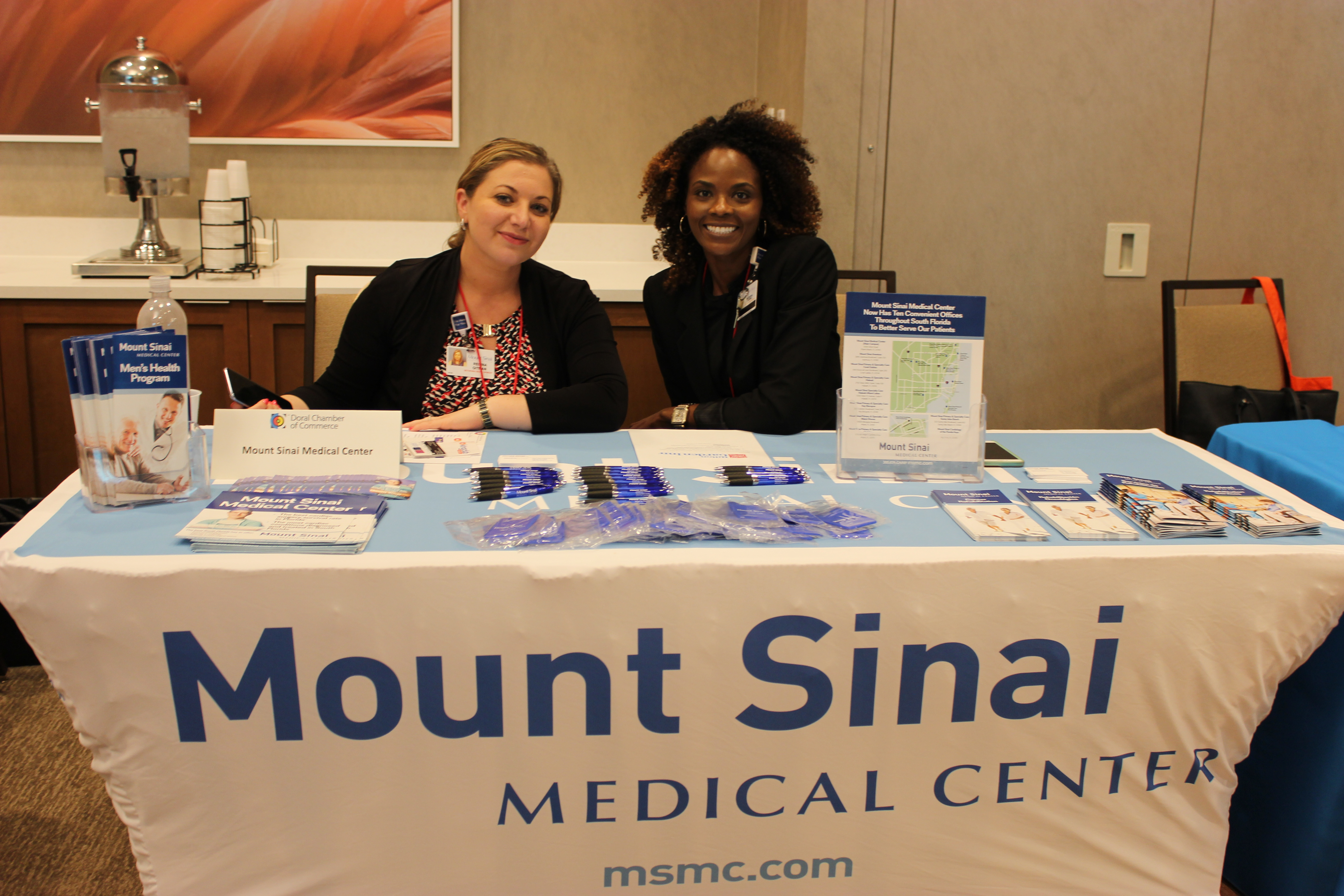 Mount Sinai Medical Center at PowerBusiness Expo May 2017, Doral Chamber of Commerce event.