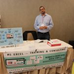 MS Excel - Training & Consulting at PowerBusiness Expo May 2017, Doral Chamber of Commerce event.