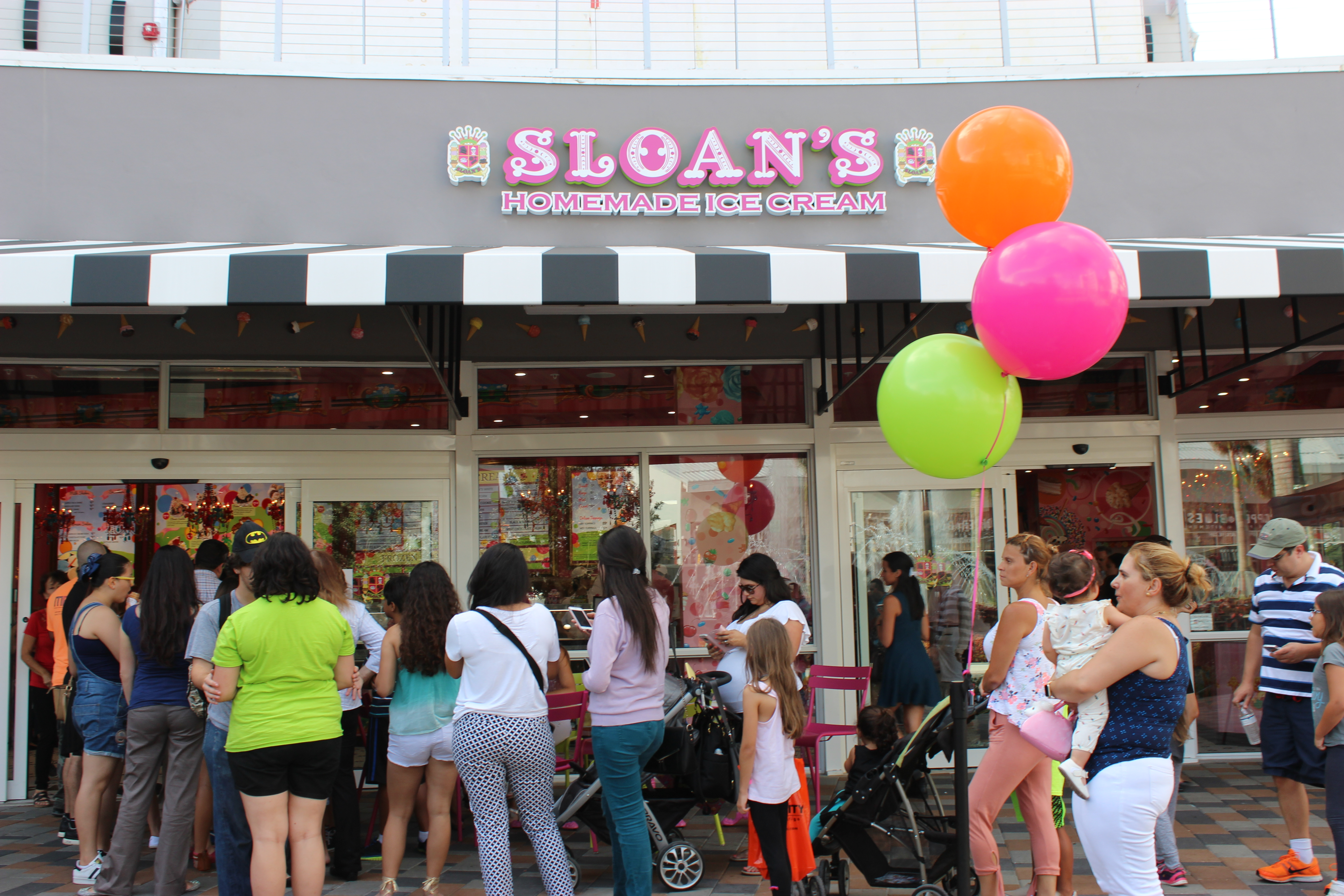 Sloan's Homemade Ice Cream Grand Opening, a Doral Chamber of Commerce event.