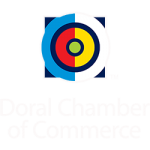 Doral Chamber of Commerce logo.