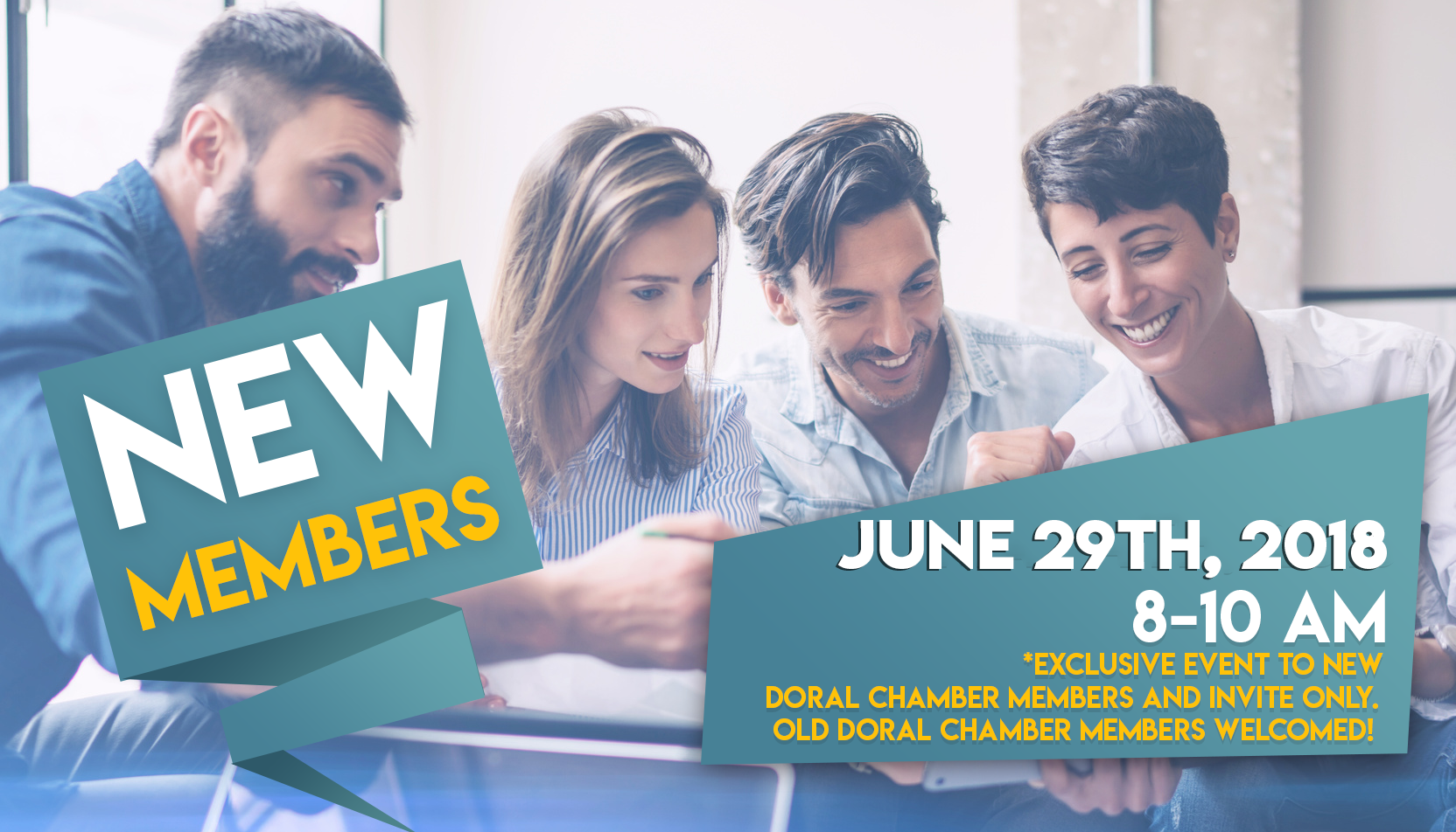 New Members, a Doral Chamber of Commerce event.