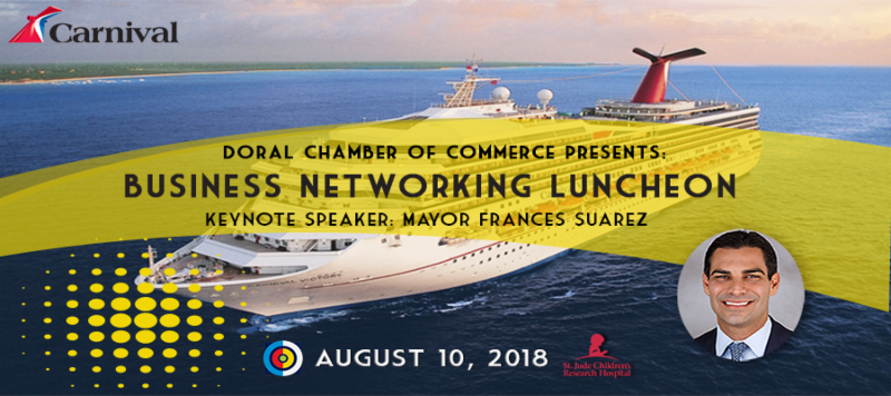 Carnival Luncheon, a Doral Chamber of Commerce event.