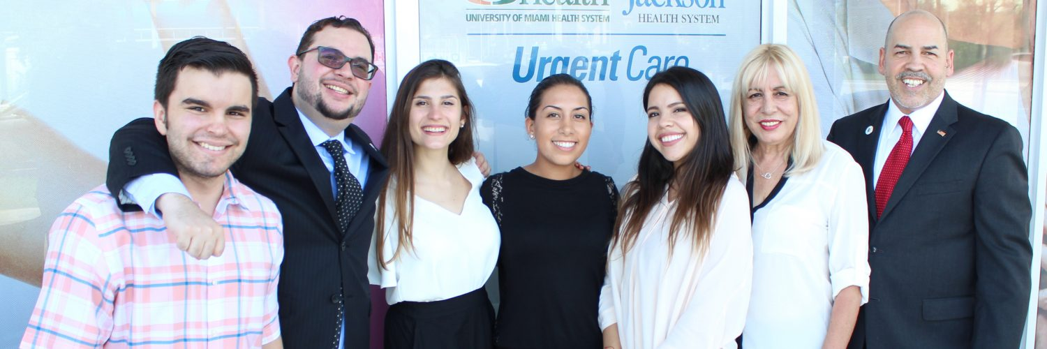 Jackson-Urgent-Care-Grand-Opening-Doral-Chamber-team-picture