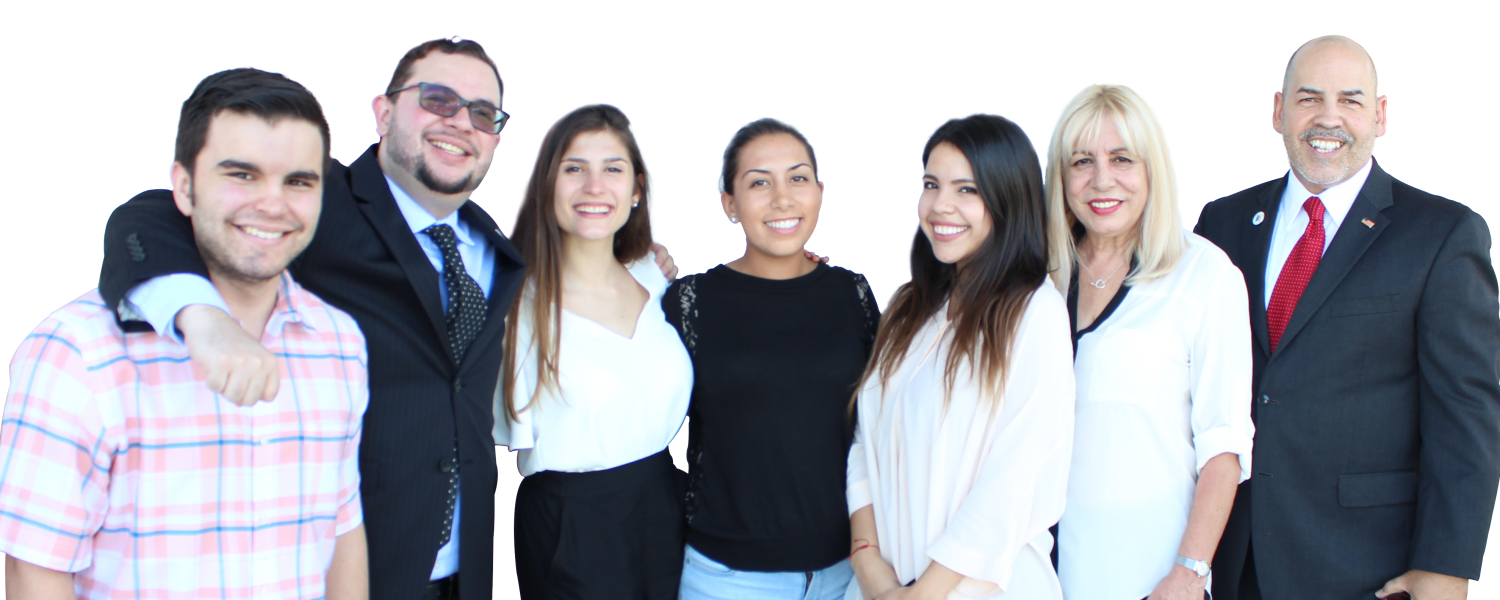 The Doral Chamber of Commerce Team.