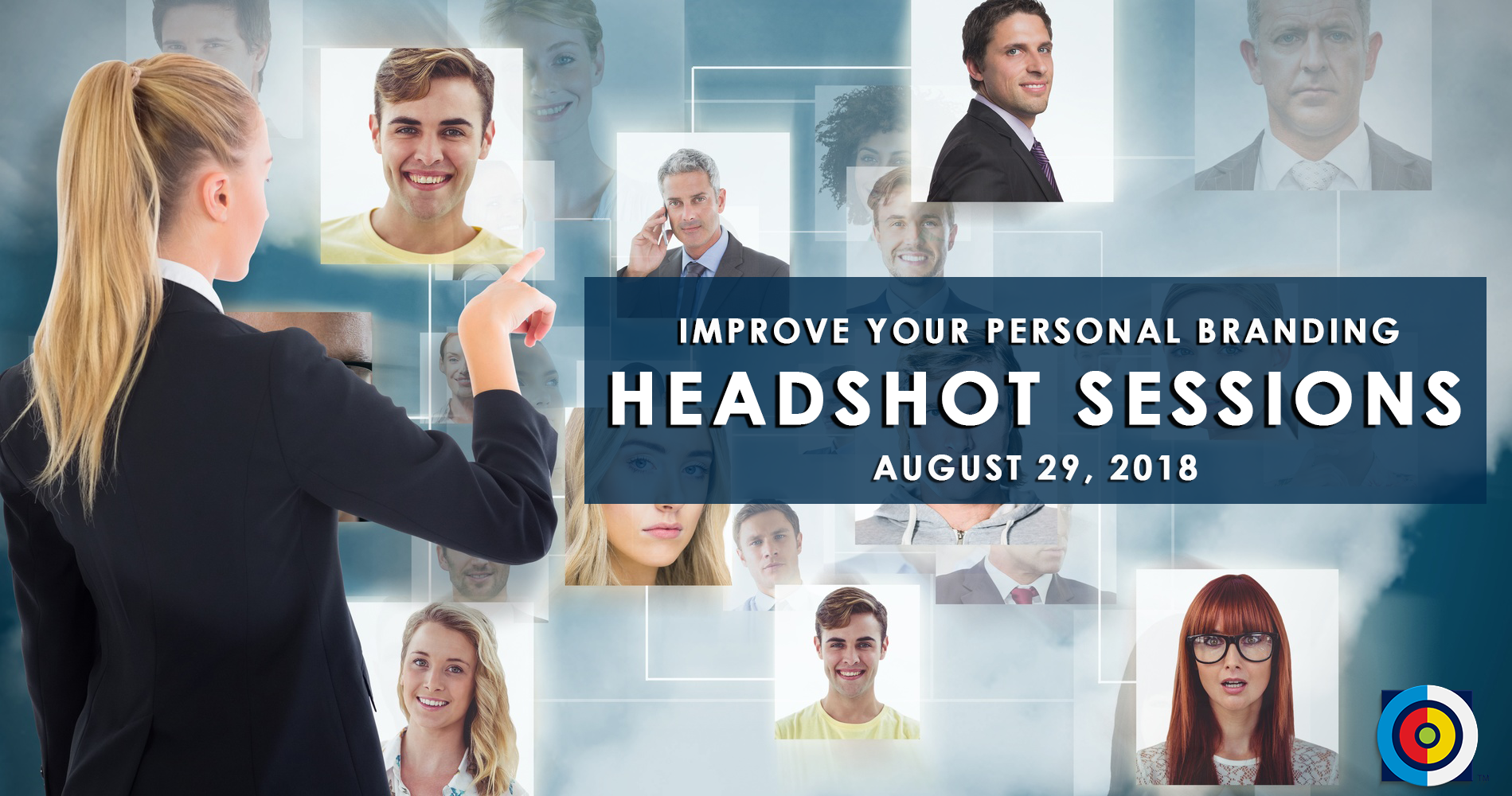 Headshot Session event, a Doral Chamber of Commerce event.