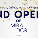 Mirador Grand Opening, a Doral Chamber of Commerce event.
