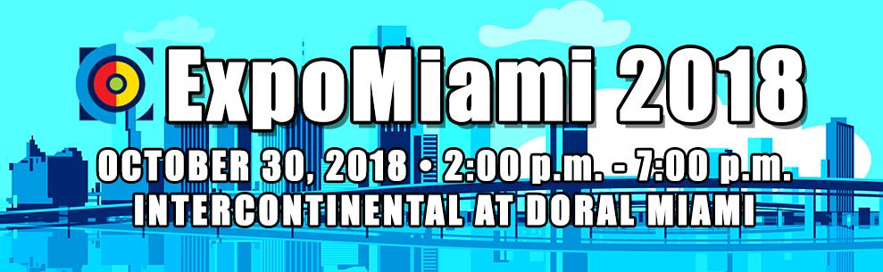 ExpoMiami 2018 event at Intercontinental Doral Miami.