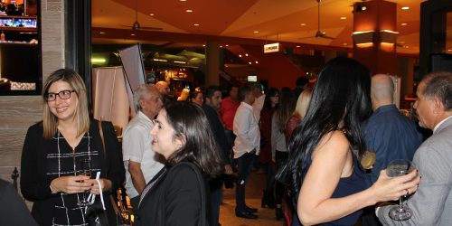 People having fun in El Gran Inka Grand Opening.