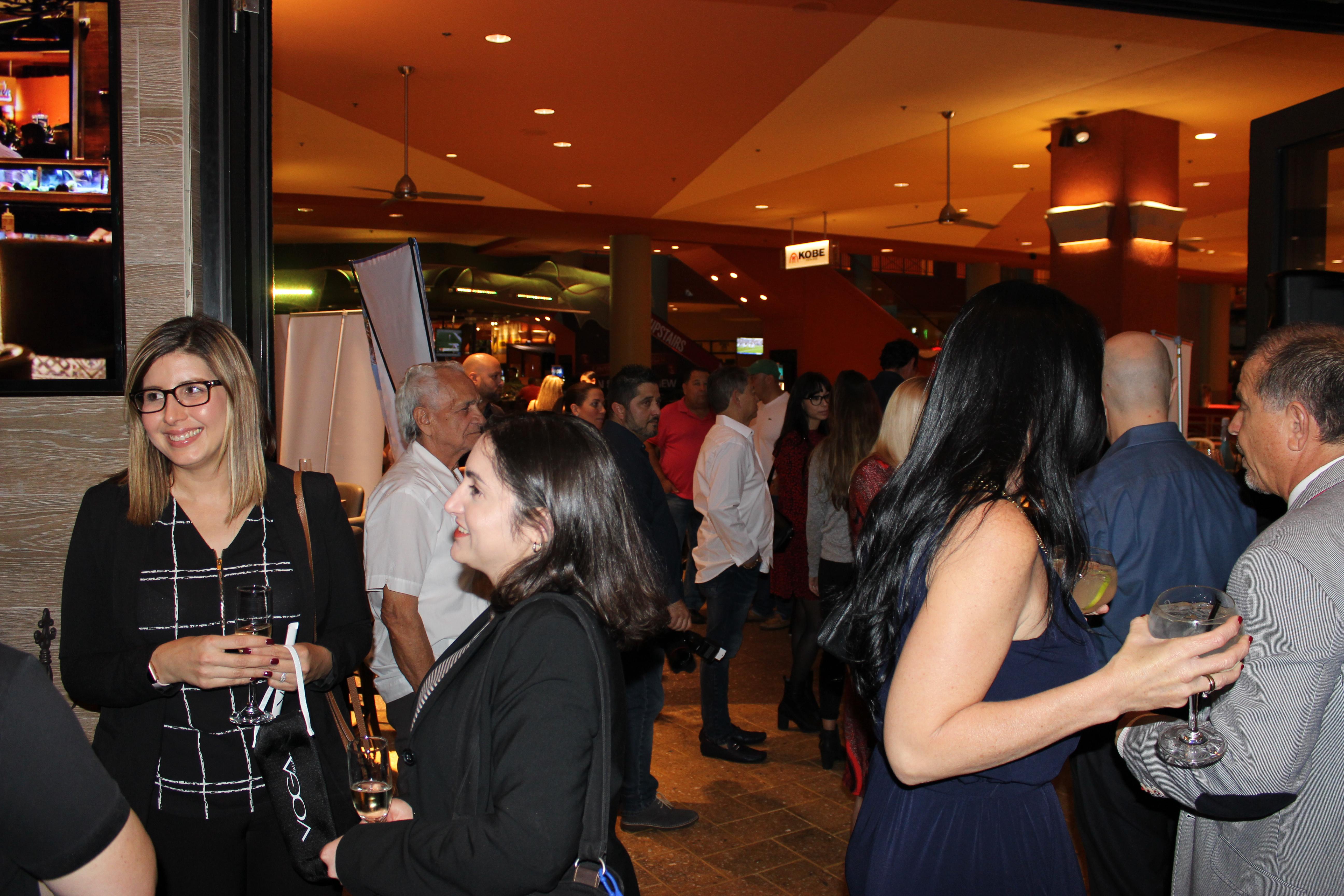 People having fun in El Gran Inka Grand Opening.