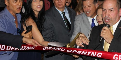 Ribbon Cutting from the Doral Chamber of Commerce in El Gran Inka.