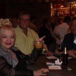 Fellow members having drinks in El Gran Inka Grand Opening.