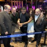 Countdown to cut the ribbon with the mayor, a Doral Chamber of Commerce event.