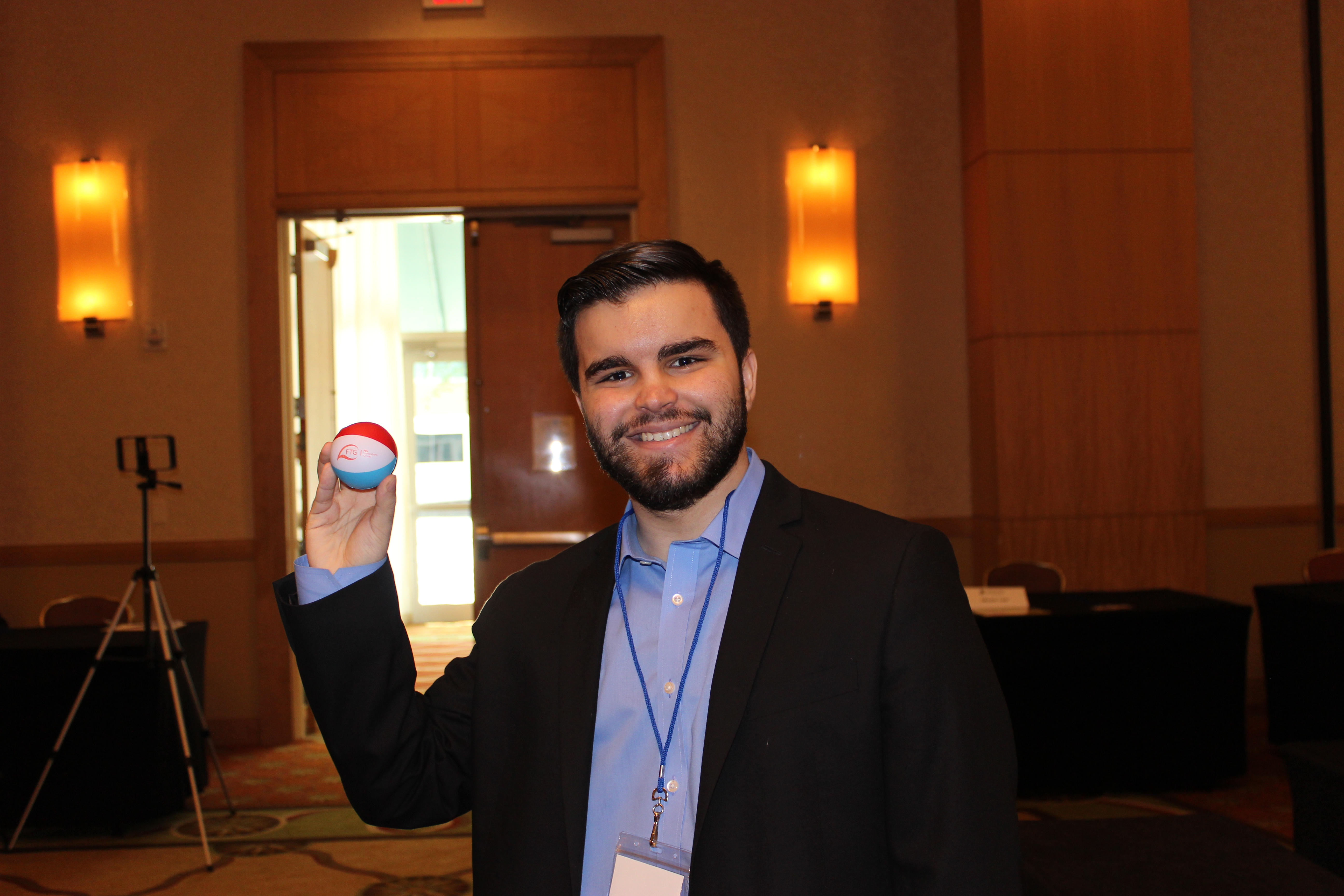 John Pena, Web Developer in ExpoMiami 2018 hosted by the Doral Chamber of Commerce.