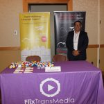 FlixTransMedia representing business in ExpoMiami 2018 hosted by the Doral Chamber of Commerce.