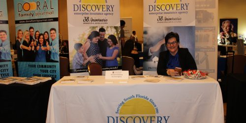 Discovery Enterprise Insurance Agency representing business in ExpoMiami 2018 hosted by Doral Chamber of Commerce.