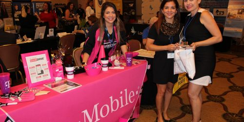 T-Mobile representing business in ExpoMiami 2018 hosted by the Doral Chamber of Commerce.