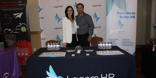 LagomHR representing business in ExpoMiami 2018 hosted by the Doral Chamber of Commerce.
