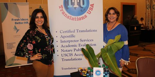 International Translations USA representing business in ExpoMiami 2018 hosted by the Doral Chamber of Commerce.
