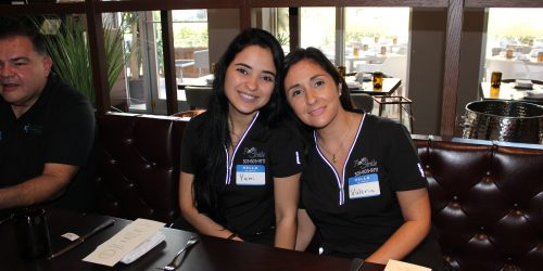 Doral Chamber of Commerce introduces Flash Smile Dental workers in Gusto Ristobar Luncheon.
