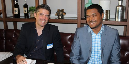 Techlaunch members in Gusto Ristobar Luncheon hosted by Doral Chamber of Commerce.