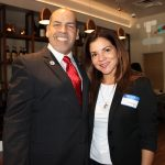 Manny Sarmiento and Diana in Gusto Ristobar Luncheon.