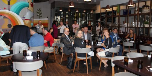 Doral Chamber of Commerce, Gusto Ristobar Luncheon guests.