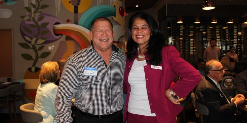 Doral Chamber of Commerce introduces members to the Gusto Ristobar Luncheon.