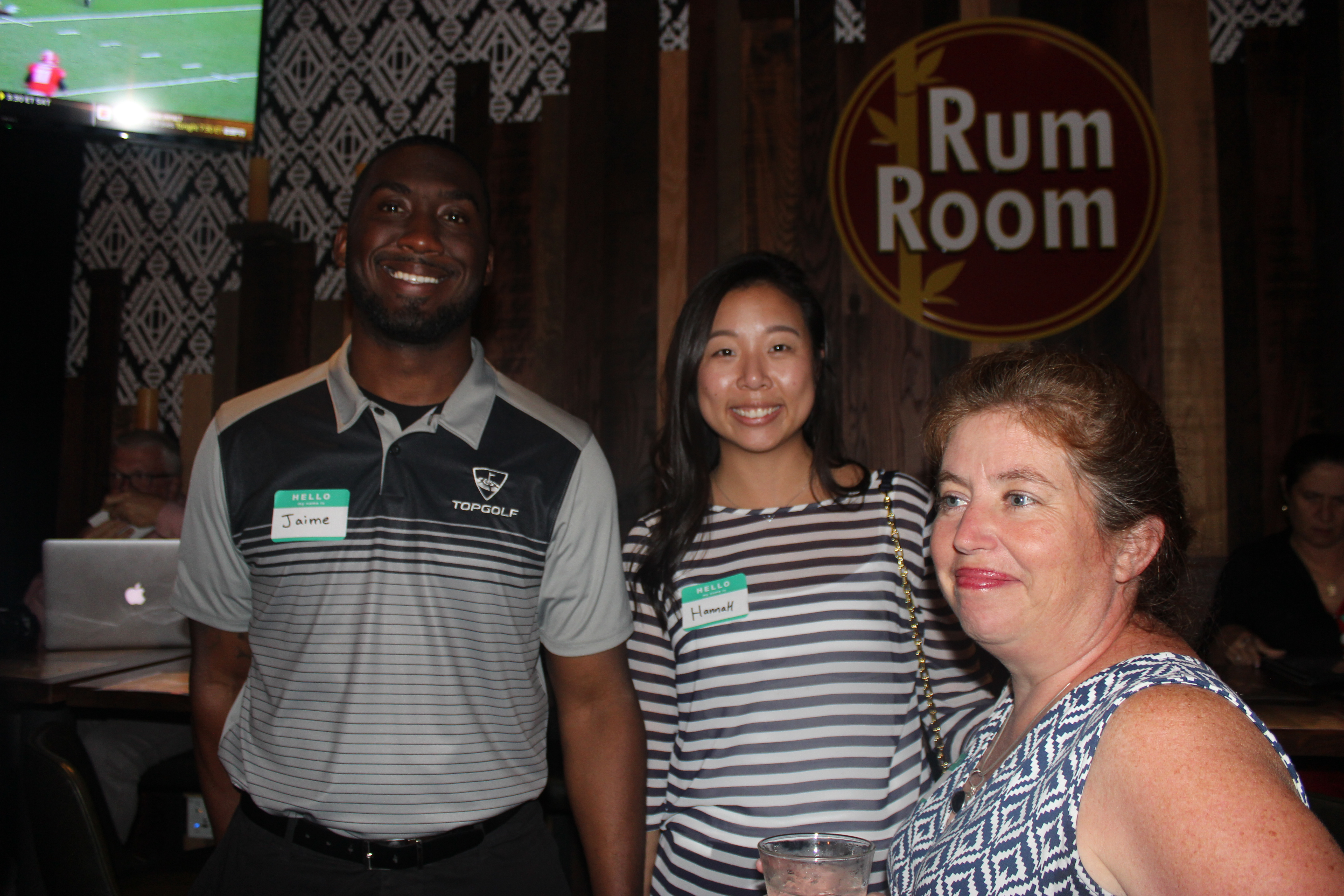 Photo taken in King's Bowl Business Networking event, Top Golf Trustee member.