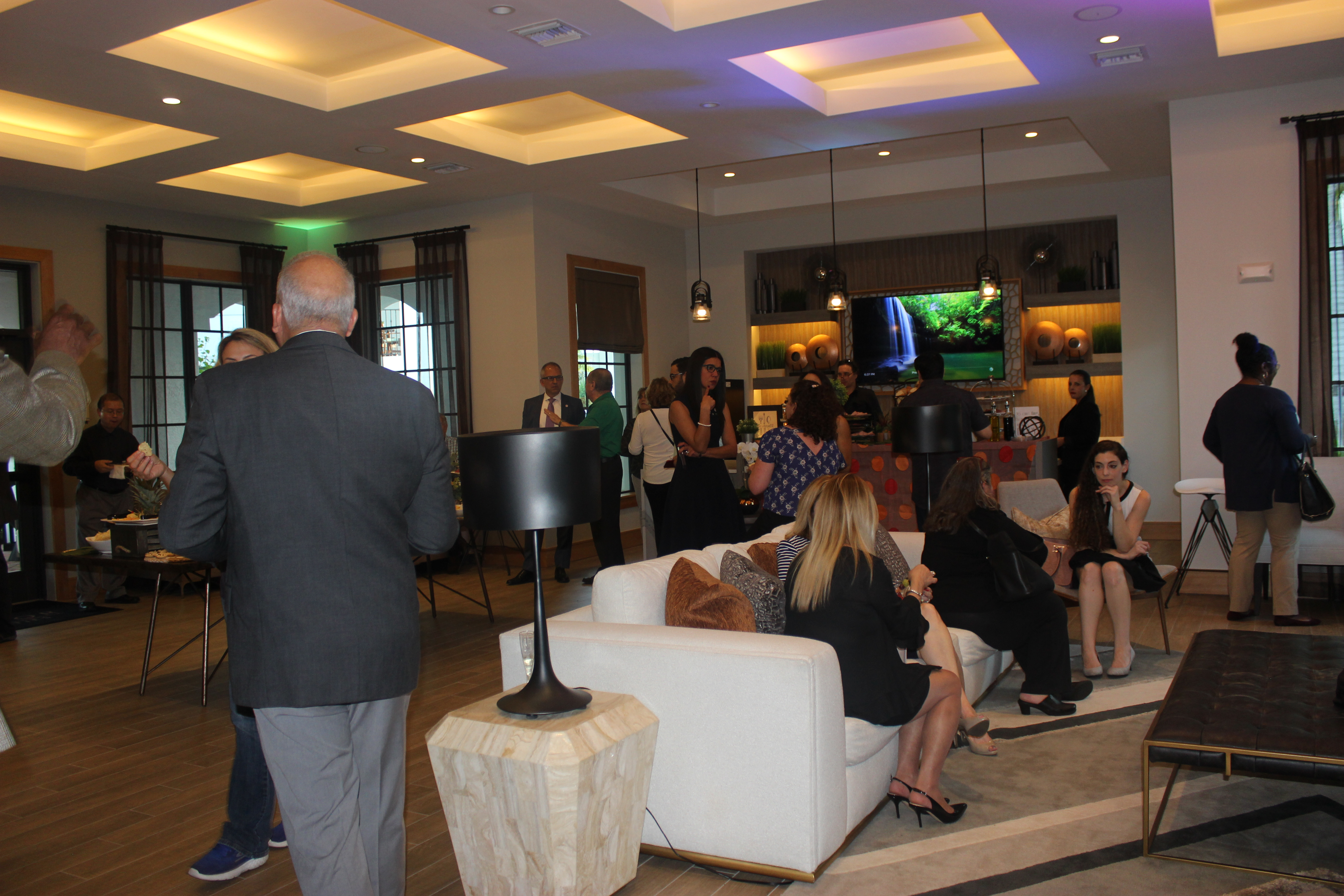 Mirador Grand Opening hosted by the Doral Chamber of Commerce.