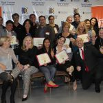 Doral Chamber of Commerce introduces Circle of Success event, group photo with new members of the DCC.