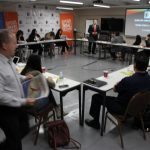 Doral Chamber of Commerce introduces Circle of Success event, blurry image.