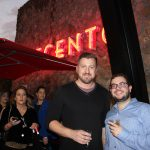 Doral Chamber of Commerce introduces Novecento Grand Opening, photo with staff member David Palomino.