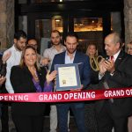 Doral Chamber of Commerce introduces Novecento Grand Opening, ribbon cutting with the owner.