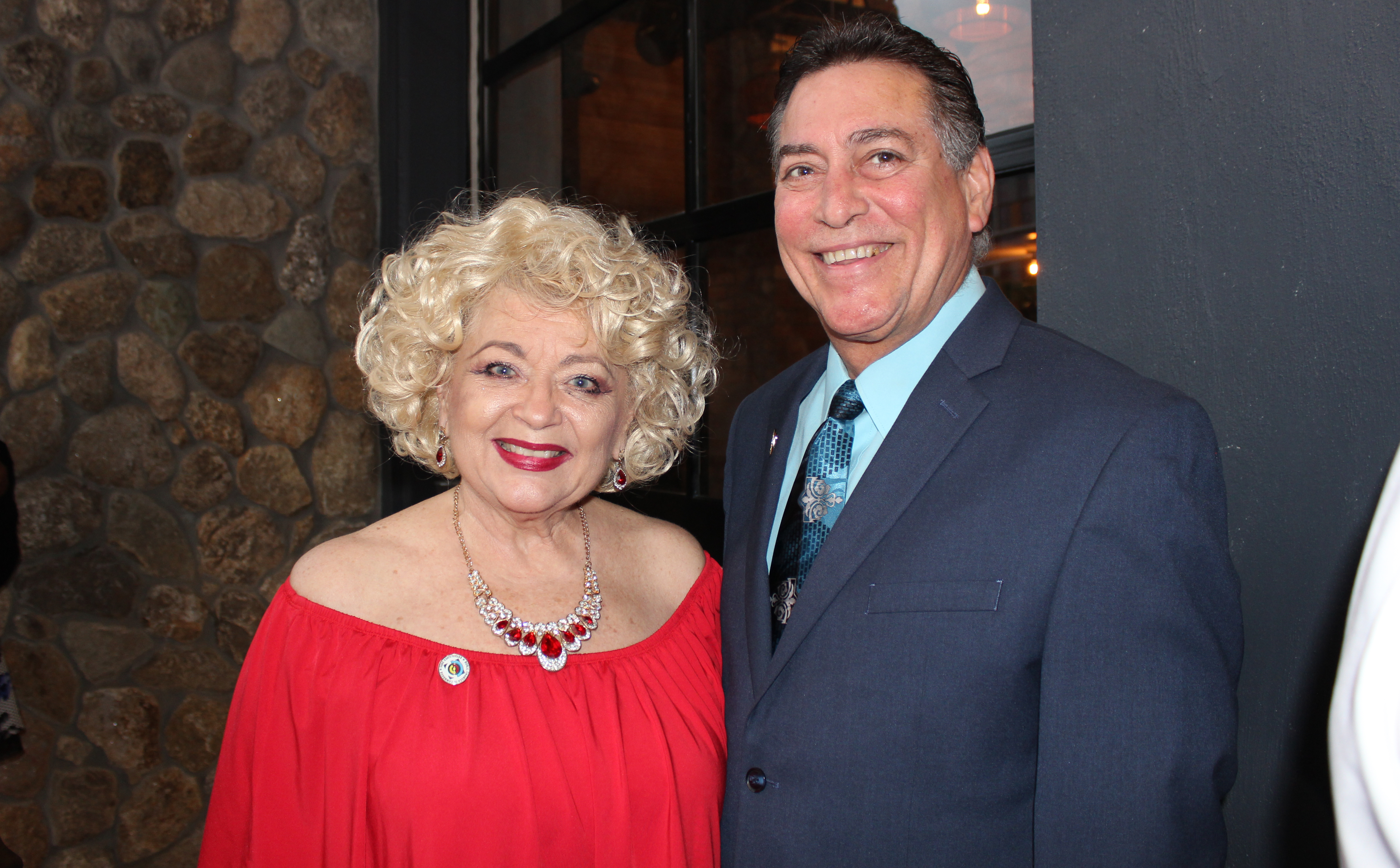 Doral Chamber of Commerce introduces Novecento Grand Opening, photo with Blanche de Jesus.