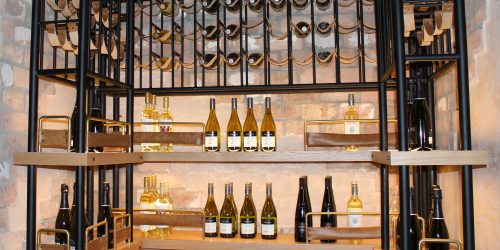 Doral Chamber of Commerce introduces Novecento Grand Opening, wine cellar.