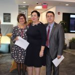 Doral Chamber of Commerce introduces DCC 21st Century Technology event, group photo of members and associates.