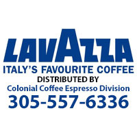 Doral Chamber of Commerce introduces Lavazza as a merchant member.
