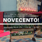 Doral Chamber of Commerce introduces Novecento Luncheon in March.