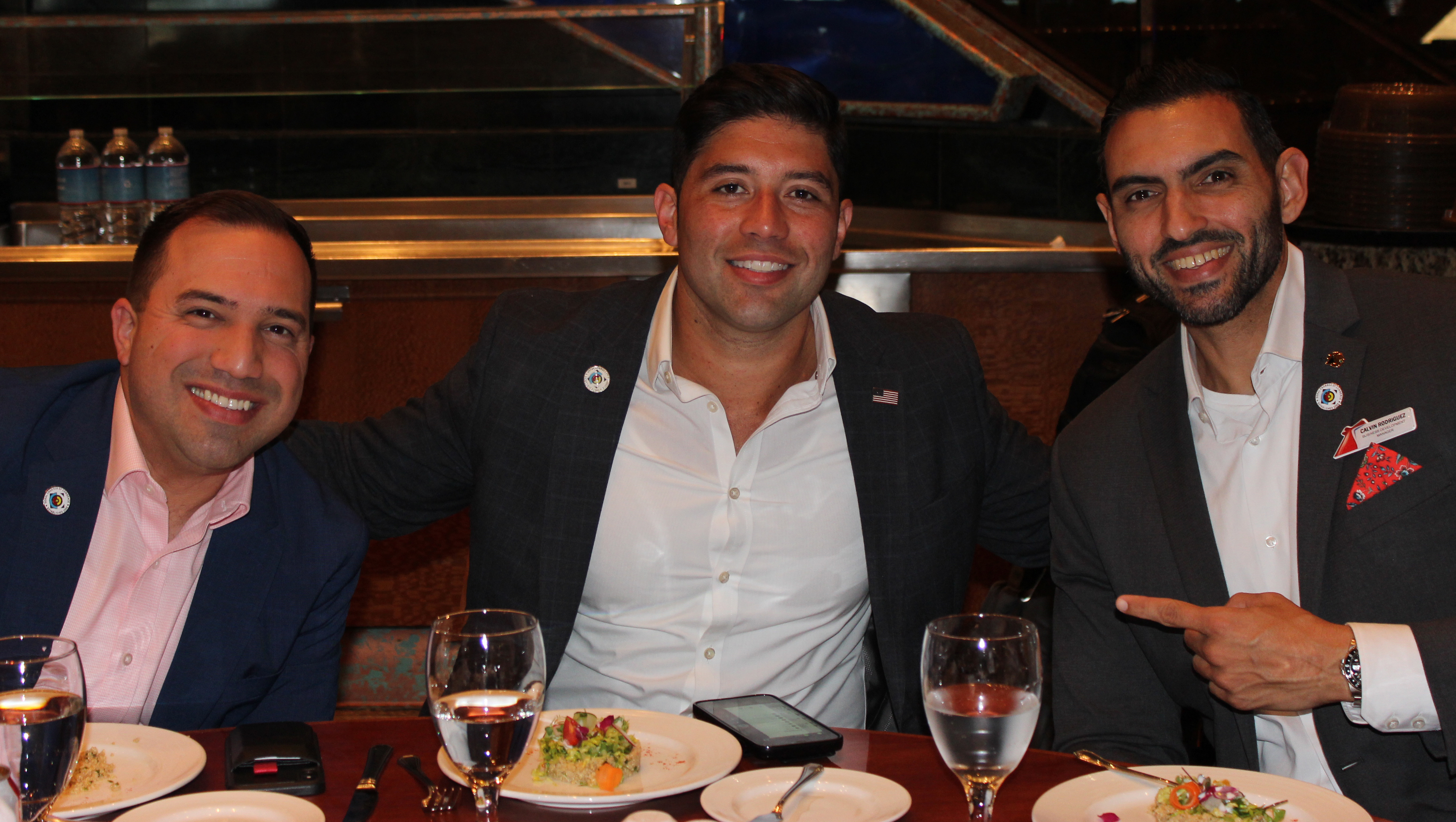 Doral Chamber of Commerce Carnival Cruise Luncheon 2019, Networking Event in Miami, Florida. PereGonza with Carnival Cruise Victory Host.